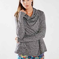 C&C California Sport Shape Wrap Top - Urban Outfitters