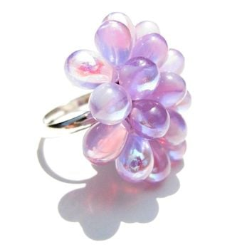 Lilac Berry Ring - Limited Edition Expandable Ring