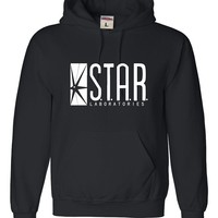 Adult Star Labs Sweatshirt Hoodie by Go All Out®