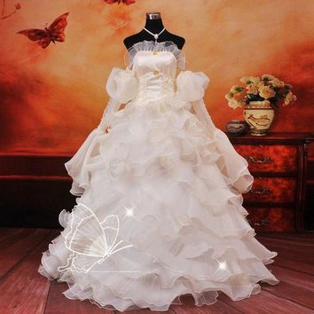 DCCKHY9 Anime Code Geass Euphemia cosplay Costume Carnival Halloween Costumes for women evening party white wedding dresses