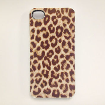 Leopard iPhone 4 Case, iPhone 4s Case, iPhone 4 Cover, Hard iPhone 4 Case , silicone iphone 4 case