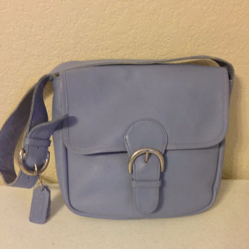 Coach Blue Leather Purse