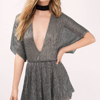 Kinsley Plunging Romper