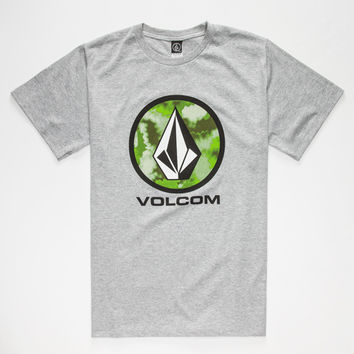 Volcom Fogmo Lock Up Mens T-Shirt Heather Grey  In Sizes