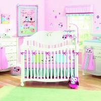 Summer Infant 8 Piece Crib Bedding Set, Who Loves You