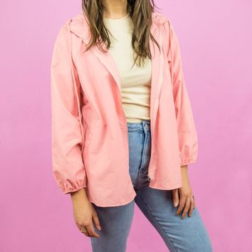 Dusty Pink Lightweight Jacket