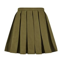 Balmain Pleated Mini Skirt