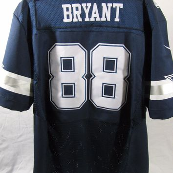 NFL Dez Bryant #88 Dallas Cowboys Jersey Navy Blue Men's Size 56 by Nike