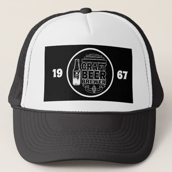 Craft Beer Brewer -1967 Trucker Hat