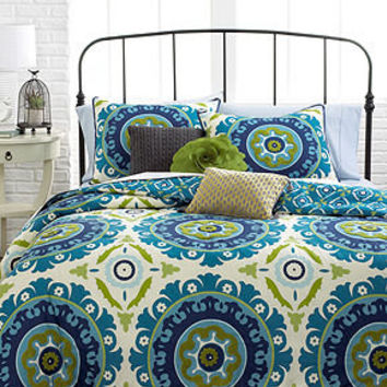 Suzani 3 Piece Comforter and Duvet Cover Sets - Dorm Bedding - Bed & Bath - Macy's