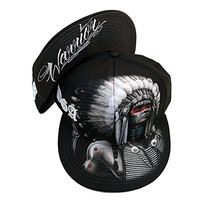 Warrior Native American Indian By David Gonzales DGA Art Sublimation Cap