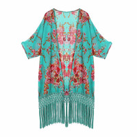 Kaftan Swim Suit Cover Up