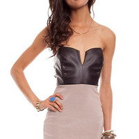Domino Body Con Dress $46