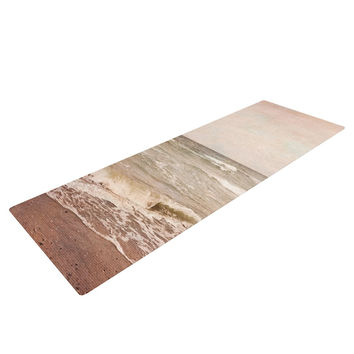 "Iris Lehnhardt ""Romantic Sea"" Beach Brown Yoga Mat"