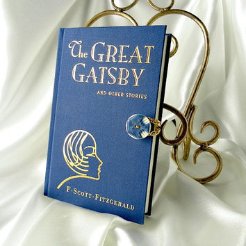 PRE-ORDER  Book Clutch Purse - The Great Gatsby by F Scott Fitzgerald