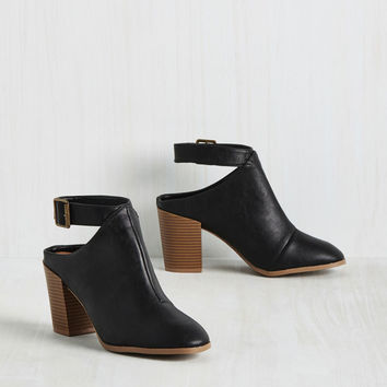 Mule Be in My Heart Bootie | Mod Retro Vintage Boots | ModCloth.com