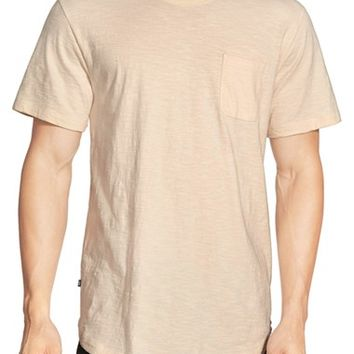 Men's Obey 'Valencia' Slub Pocket Crewneck T-Shirt,