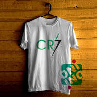 Cristiano Ronaldo Logo Tshirt For Men / Women Shirt Color Tees