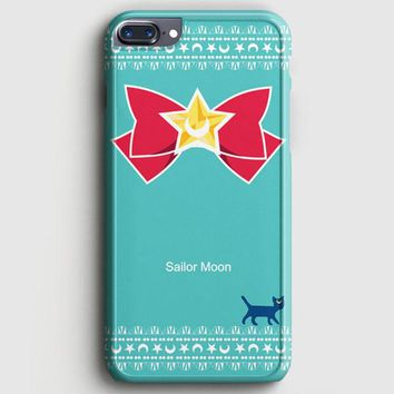 Sailor Moon Luna Kawaii Cat iPhone 8 Plus Case | casescraft