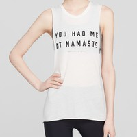 Spiritual Gangster Tank - You Had Me At Namaste Muscle