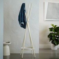 Spindle Coat Rack