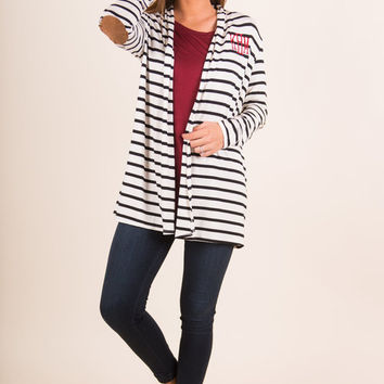 Back In Action Cardigan, Ivory