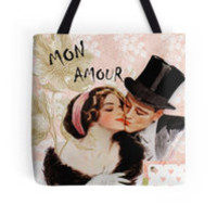 Valentine vintage love couple by MNA-Art