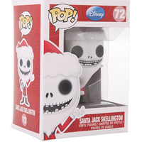 Funko The Nightmare Before Christmas Pop! Santa Jack Skellington Vinyl Figure