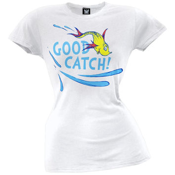 Dr. Seuss - Good Catch Juniors T-Shirt
