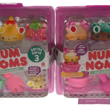 Num Noms Collectible Scented Characters Series 3 Fresh Fruit 3.1 Donuts 2 Sets