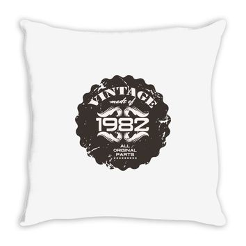 vintage made of 1982 all original parts Throw Pillow