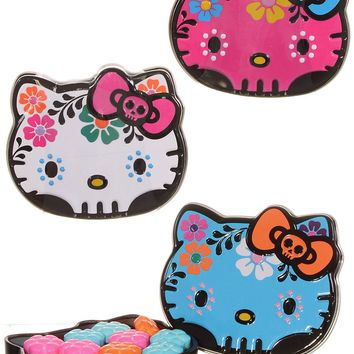 Hello Kitty Sugar Skulls Candy Tin