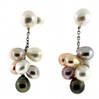 Jewel of Ocean Freshwater Pearl Earrings