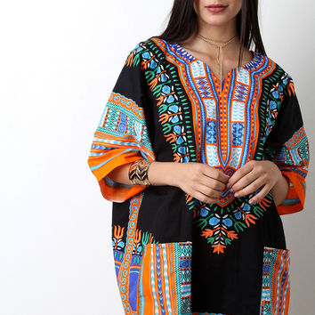 African Dashiki Long Top