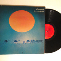 FALL SALE Santana Caravanserai LP Album 1971 Future Primitive Psychedelic Latin Rock Vinyl Record