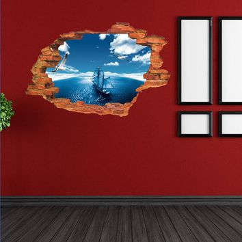 3D Wall Stickers Mural Wall Decal