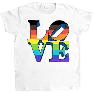 Proud Love Statue -- Women's T-Shirt