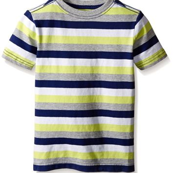 Gymboree Boys' Big Boys' Striped Short Sleeve Tee