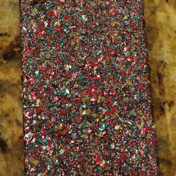 Mixed Glitter iPhone 4 4s Hard Cover Case by kaylafenton on Etsy