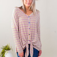 Best Remedy Striped Top