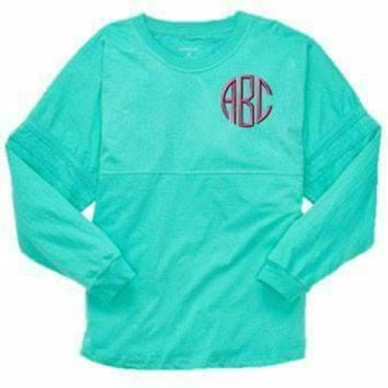 Embroidered / Monogrammed / Personalized Pom-Pom Jersey / Tunic