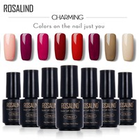 ROSALIND 7ML Gel Nail Polish Nail Gel Polish Nail Art Vernis Semi Permanent  set Gel Nail Varnishes