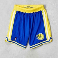 Mitchell & Ness Golden State Warriors Authentic Basketball Short