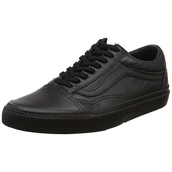 Vans Womens Old Skool Leather Trainers