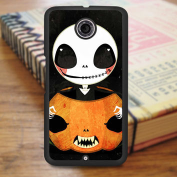 Cute Jack Skellington Nexus 6 Case