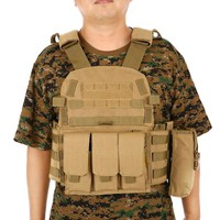 NEW Hunting Vest CS Hunting Military Tactical Vest Chest Rig Gear Load Carrier Vest with Hydration Pocket Hunting Equipment