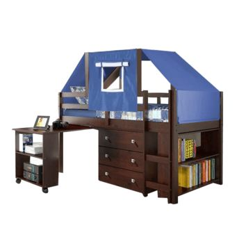 Gabriel Cappuccino Loft with Blue Tent