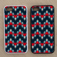 Cute Geometric Chevron iPhone Case, iPhone 5 Case, iPhone 4S Case, iPhone 4 Case - SKU: 137