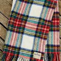 Vintage Nephin Rug Plaid Blanket - Urban Outfitters