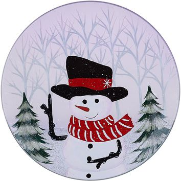 The Birchhearts Snowman Candle Tray